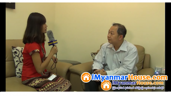 The Interview with U Kyaw Myint Oo, Managing Director of Paragon Residence (Part 1) - Property Interview from iMyanmarHouse.com